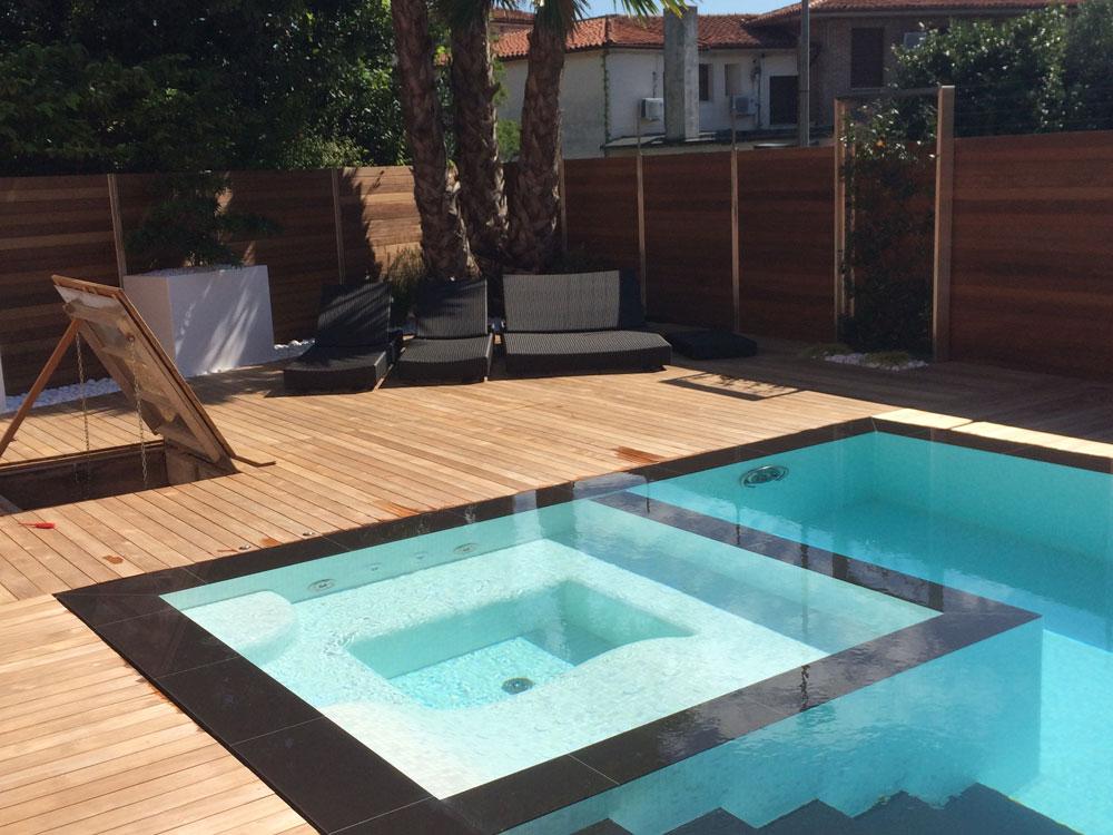Realizzazione piscina privata